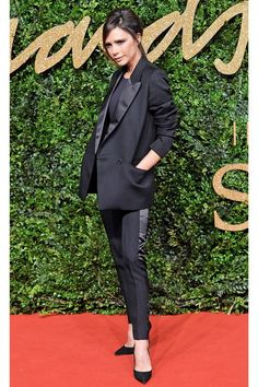 When You're A Minimalist, But Also A Spice Girl #refinery29  http://www.dewaporn.com.refinery29.com/2016/01/101670/victoria-beckham-street-style-pictures#slide-3  No jacket? No problem. Just borrow your famous soccer star husband's....