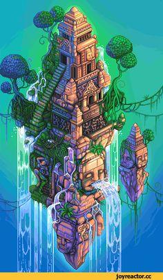 Pixel Art,Пиксель Арт, Пиксель-Арт,Pixel Gif,длиннопост,Socnau