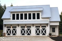 garage plans This 3 bed carriage house is great as a guest house, an income-producing property or use as a workshop or man cave. A shed dormer across the front adds to its curb appeal, cr Garage Apartment Plans, Garage Apartments, Garage Plans, Garage Ideas, Barn Plans, Garage Renovation, Apartment Ideas, Basement Ideas, Shed Roof Design