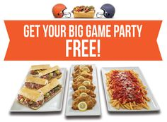 It's the 50th Anniversary of The Big Game! If the total score hits 50, you will win back the cost of your catering purchase. See Buona.com/The-Big-Game for details. #TheBigGame #BuonaBeef