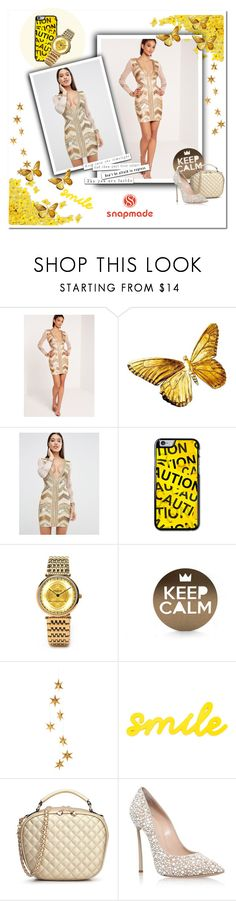 """""""Snapmade 4/10"""" by smajicelma ❤ liked on Polyvore featuring Missguided, Livingly and Casadei"""