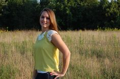 Limed with Lace - $28 - Betty Jane's Boutique