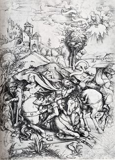 Albrecht Dürer - The Conversion of Saint Paul
