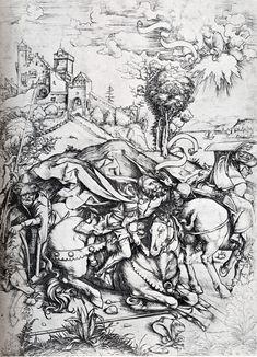 Albrecht Dürer - The Conversion of Saint Paul