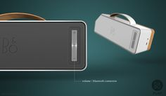 B&O Bluetooth speaker on Behance