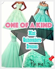 Have you been in the market for the perfect Mint Quinceanera dress for the big day of yours? Don't miss out on these 5 tips for finding the ideal dress for your celebration. Mint Quinceanera Dresses, Young Female, Dress First, Big Day, Most Beautiful, Dress Up, Fancy, Disney Princess, Dress Ideas