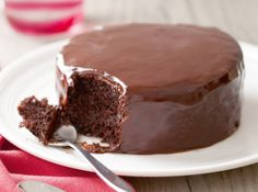 Laced with a hint of citrus, this moist chocolate cake will surely make hearts go aflutter.