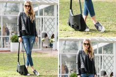 Ohlaleando: mirá lo que se puso Lucía Celasco Andrea Burstein con look casual: chaqueta de cuero, jeans rasgados y panchas. ¿Te gusta su outfit?. Foto: Gentileza Prensa