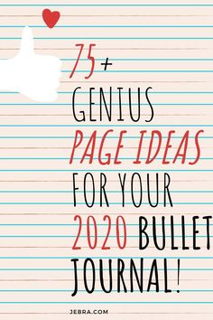 Bullet Journal Collection Ideas - Bullet Journal Inspiration for Pages to Try in Your BuJo in the New Year - 2020 Bullet Journal - Bullet Journal Collections - BuJo Pages