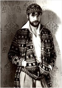 Bill Gibb - the British designer's famous for his bohemian style, and Gothic paintings with fantasy-like feel.