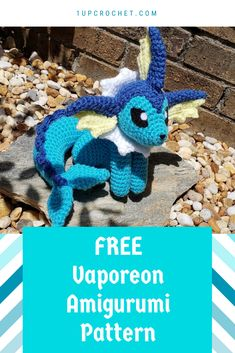 Mesmerizing Crochet an Amigurumi Rabbit Ideas. Lovely Crochet an Amigurumi Rabbit Ideas. Crochet Kawaii, Crochet Diy, Crochet Geek, Crochet Crafts, Crochet Dolls, Pokemon Crochet Pattern, Crochet Amigurumi Free Patterns, Dragon En Crochet, Crochet Mignon