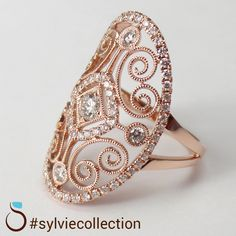 Fashion Jewelry FR168 18K White Gold Plated Band Ring