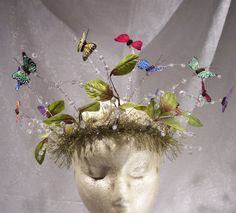 Butterfly Fairy Queen Crown offered by Etsy is a sweet little number and can be worn even at my age.