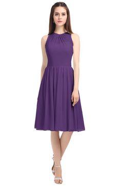ColsBM Ivory - Dark Purple Bridesmaid Dresses. Dark Purple Bridesmaid  DressesKnee Length ... 39ec26d18