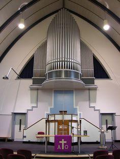 Zuid-Beijerland - Eendrachtskerk, organ by pietbron, via Flickr