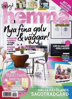 Veckans nummer av Härligt hemma! Nr 17/2013 Nu med ännu mer inredning ocn ny sajt.