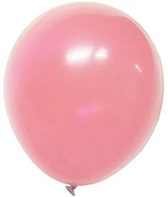 """Custom, Fun & Cool {Big Large Size 12"""" Inch} 36 Pack of Helium & Air Inflatable Latex Rubber Balloons w/ Girly Pastel Design [in Light Pink Color] mySimple Products"""