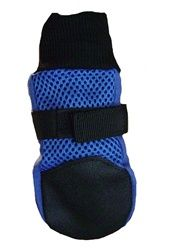 $24.99 Meshies by Barko Booties - Blue - back view