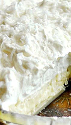 Lorie's Ultimate Coconut Cream Pie Recipe ~ This recipe was a winner in the pie category in The Perfect 3 contest sponsored by The Cooking Channel.