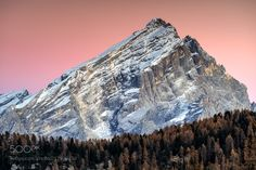 Monte Antelao - The mighty Monte Antelao dolomites. The best light comes after sunset.