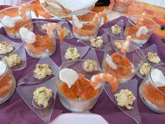 Recette de Cuillères apéritives à la crevette (ou verrines)