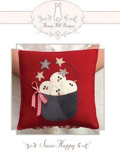 Snowman pillow!