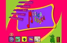 """""""Música Educa"""", publicado por el Instituto de Tecnologías de la Educación, inicia en el conocimiento de la música en el Segundo Ciclo de Educación Infantil y es válida en, actividades más avanzadas, para toda la Educación Primaria."""