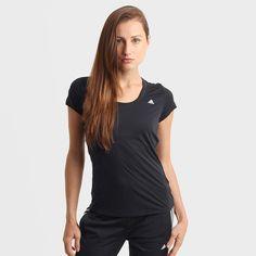 Camiseta Adidas ESS Clima LW Feminina - Compre Agora c7ac25ae9545a