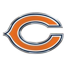 Show your Bears pride on your car or truck with the Chicago Bears Logo Auto Emblem