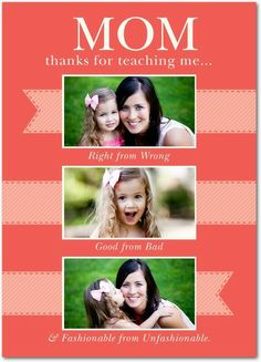 Everything Important - Mother's Day Greeting Cards in Coral | Magnolia Press