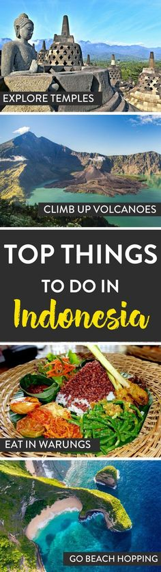 Indonesia Travel | looking for things to do in Indonesia? Here are a few of our top tips!