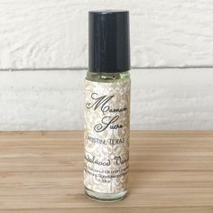 Sandalwood Vanilla Aromatherapy Roll On  Exotic by MamanSucre