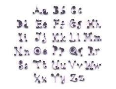 Quilled Alphabet