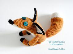 Crochet patrones - el pequeño zorro de príncipe