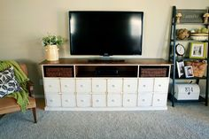 Apothecary Media Console | Do It Yourself Home Projects from Ana White