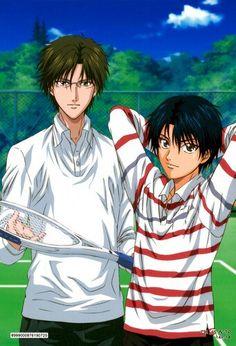 Tezuka and Ryoma (Prince of Tennis)