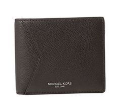 Michael Kors Mens Bryant Leather Billfold Wallet Brown ** Continue to the product at the image link. Note: It's an affiliate link to Amazon #MenLuxuryWallet