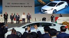 Kia inauguró de manera oficial su planta de producción en Pesquería, Nuevo León