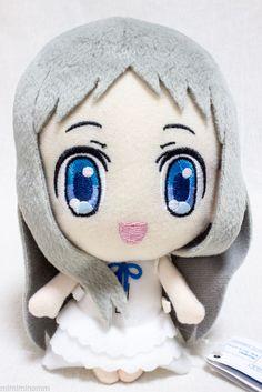 Anohana Meiko Honma Menma Plush Doll Figure Flower We Saw That Day JAPAN