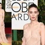 Rooney Mara de Alexander McQueen - Golden Globes 2016