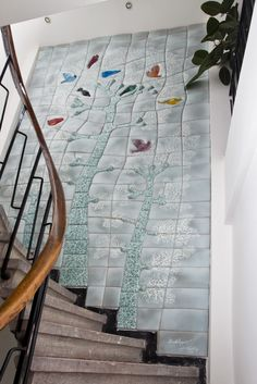Mehmet Kutlu Ceramic wall design