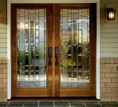 Therma-Tru Double Door with double side lights size 114\