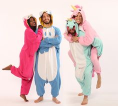We're giving away three of your favorite animal pajamas! Kigurumi are the most comfy, cozy and lovable onesies on the planet and we want three lucky people to win, win, win!     To enter, just follow the link here: http://bit.ly/1jrA49W     Three winners will be chosen at random and will be able to take their pick from our Kigurumi and Kids Kigurumi categories.  Good luck!  Owl and Unicorn Kigurumi Animal Onesies