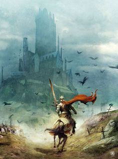 Kingdom: A #castle and #knight of the #Kingdom.