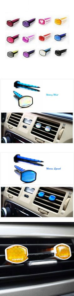 Aromatic Air Clip-On Clamp Auto Scent Solid Perfume For Car Vent Air Freshener