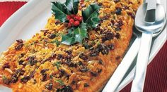 Nadia Lim's Christmas Regal Salmon with Cranberry and Almond Crust