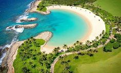 Sweet - swimming in the Ko Olina lagoons are amazing!