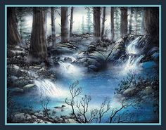 Forest Falls by kn_97, via Flickr