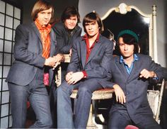 """Filming the episode """"Monkees a la Mode"""" Davy Jones Monkees, The Monkees, My Only Love, First Love, My Favorite Music, Favorite Tv Shows, Classic Rock Artists, Michael Nesmith, Peter Tork"""