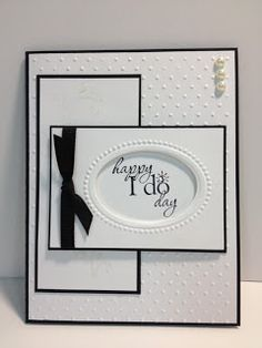 Neat layout for a card. My Creative Corner!: Word Play Wedding Card